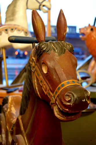 Small Carousel Horse